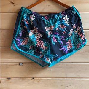 Tropical Running Shorts